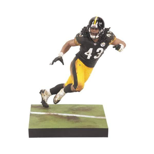 マクファーレン トイズ NFL アメフト アクション フィギュア ダイキャスト McFarlane NFL Pittsburgh Steelers 2012 Series 29 Troy Polamalu Action Figure
