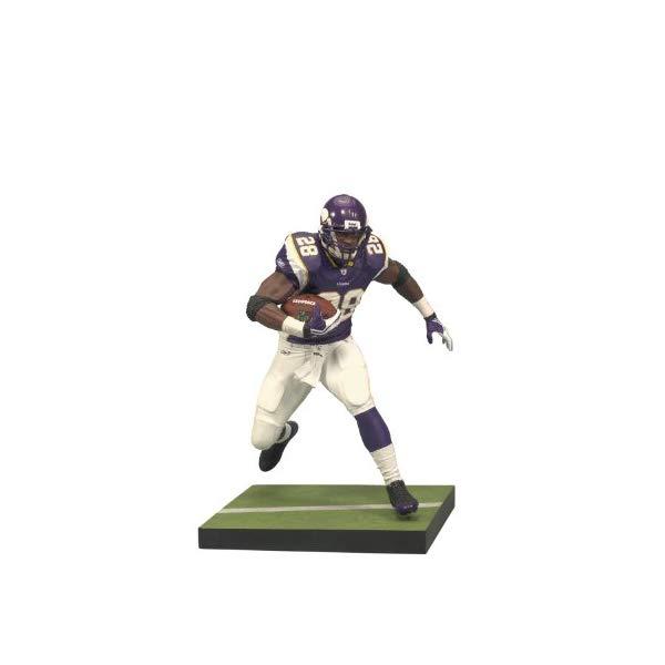 """マクファーレン トイズ NFL アメフト アクション フィギュア ダイキャスト McFarlane Toys 12"""" NFL Adrian Peterson Action Figure"""