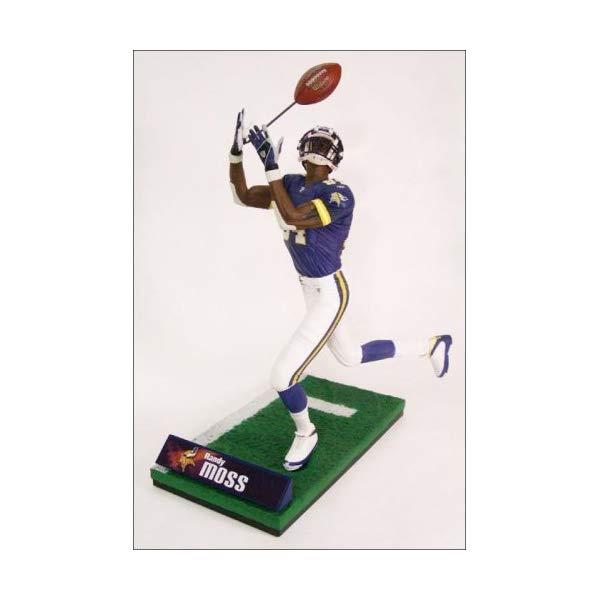 マクファーレン トイズ NFL アメフト アクション フィギュア ダイキャスト McFarlane Toys NFL Sports Picks Series 10 Action Figure Randy Moss (Minnesota Vikings) Purple Jersey