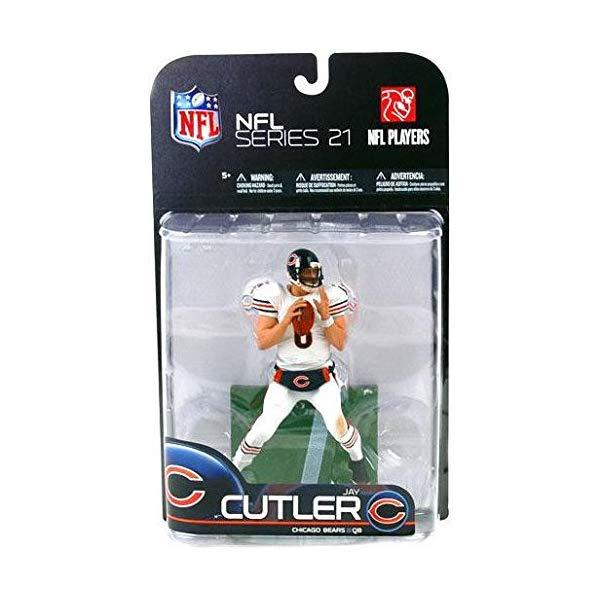 マクファーレン トイズ NFL アメフト アクション フィギュア ダイキャスト McFarlane Toys NFL Sports Picks Series 21 2009 Wave 2 Action Figure Jay Cutler (Chicago Bears) White Jersey Variant