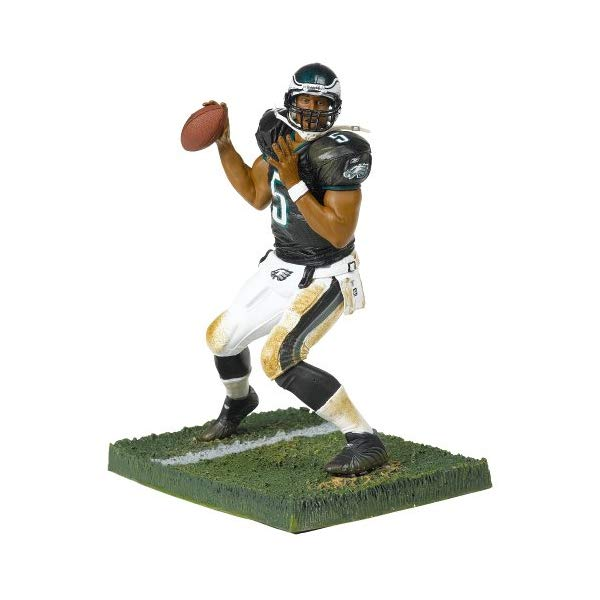 マクファーレン トイズ NFL アメフト アクション フィギュア ダイキャスト McFarlane NFL Series 12 Donavan McNabb in Philadelphia Eagles Black Jersey Chase Variant Alternate Figure by McFarlane Toys by Unknown