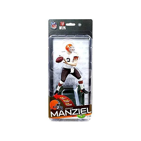 マクファーレン トイズ NFL アメフト アクション フィギュア ダイキャスト McFarlane Toys NFL Sports Picks Series 35 Johnny Manziel Action Figure [White Jersey]