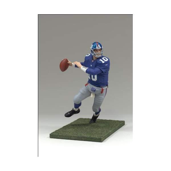 """マクファーレン トイズ NFL アメフト アクション フィギュア ダイキャスト McFarlane Toys 6"""" NFL Series 13 - Eli Manning 2"""