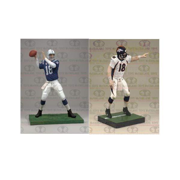 マクファーレン トイズ NFL アメフト アクション フィギュア ダイキャスト McFarlane NFL Denver Broncos - Indianapolis Colts 2012 Peyton Manning Collector?s Edition Action Figure 2-Pack