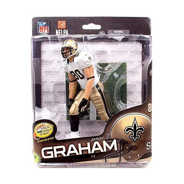 マクファーレン トイズ NFL アメフト アクション フィギュア ダイキャスト McFarlane Toys NFL Sports Picks Series 34 Action Figure Jimmy Graham (New Orleans Saints) White Jersey Collector Level