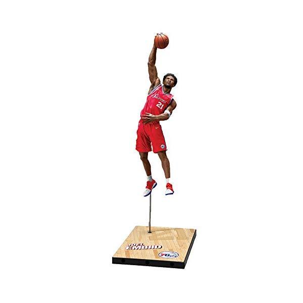 マクファーレン トイズ NBA バスケットボール アクション フィギュア ダイキャスト McFarlane Toys Nba Series 32 Joel Embiid Philadelphia 76ers Action Figure