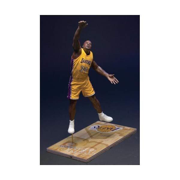 マクファーレン トイズ NBA バスケットボール アクション フィギュア ダイキャスト McFarlane Toys NBA Sports Picks Series 2 Shaquille O'Neal (Los Angeles Lakers) Yellow Jersey Action Figure