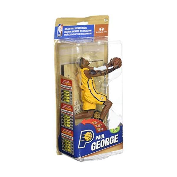 マクファーレン トイズ NBA バスケットボール アクション フィギュア ダイキャスト McFarlane Toys NBA Series 25 Paul George Action Figure