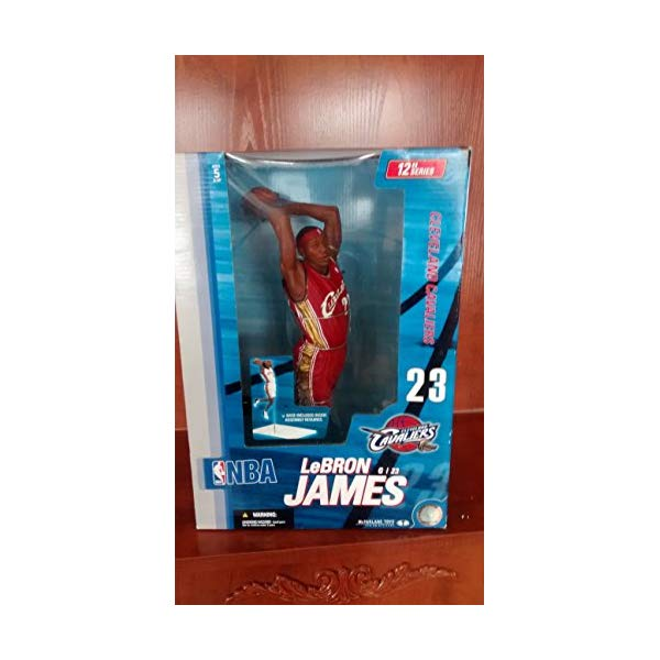 マクファーレン トイズ NBA バスケットボール アクション フィギュア ダイキャスト McFarlane Toys NBA Sports Picks 12 Inch Deluxe Action Figure LeBron James (Cleveland Cavaliers) by Unknown