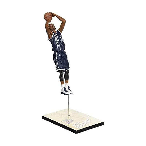 マクファーレン トイズ NBA バスケットボール アクション フィギュア ダイキャスト McFarlane Toys NBA Oklahoma City Thunder Sports Picks Series 25 Kevin Durant Exclusive Action Figure [White Uniform & MVP Trophy]