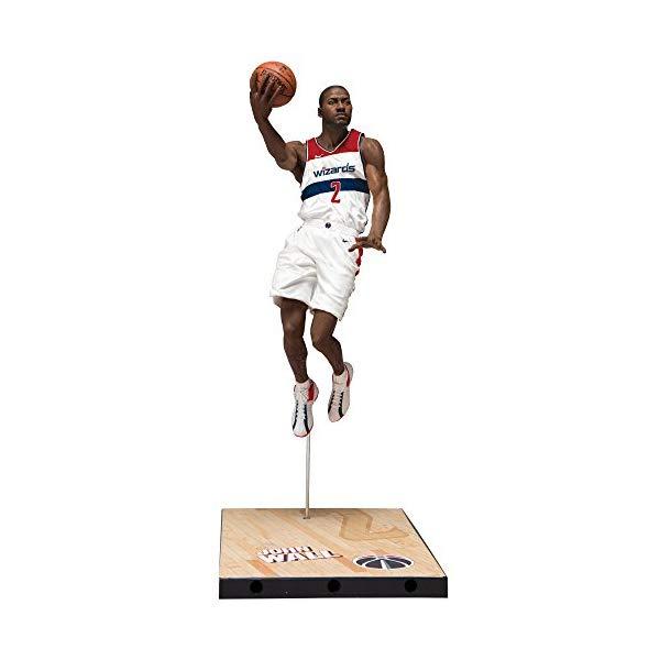 マクファーレン トイズ NBA バスケットボール アクション フィギュア ダイキャスト McFarlane Toys Nba Series 31 John Wall Washington Wizards Action Figure