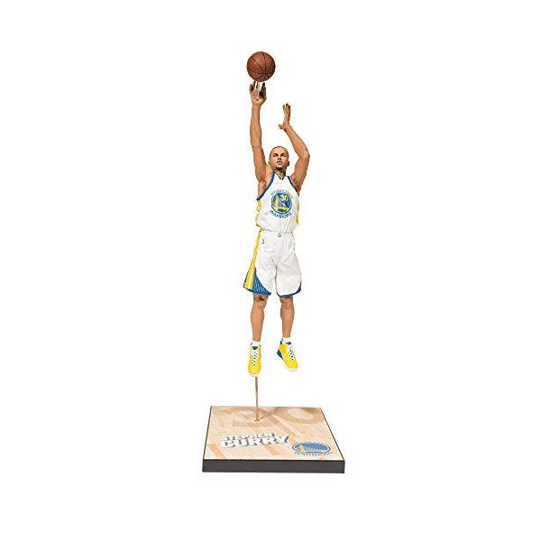 マクファーレン トイズ NBA バスケットボール アクション フィギュア ダイキャスト McFarlane Toys NBA Series 28 Stephen Curry Action Figure