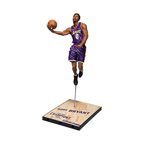 マクファーレン トイズ NBA バスケットボール アクション フィギュア ダイキャスト McFarlane Toys Kobe Bryant 2001 Nba Finals Action Figure
