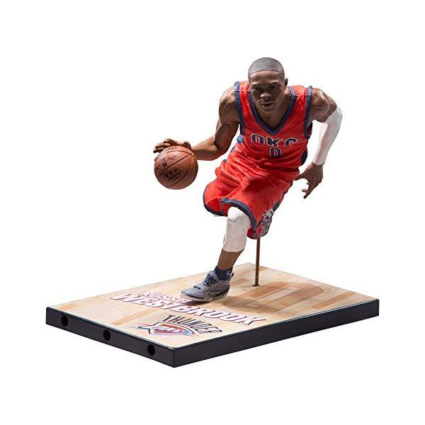 マクファーレン トイズ NBA バスケットボール アクション フィギュア ダイキャスト McFarlane Toys NBA Series 29 Russell Westbrook Oklahoma City Thunder Collectible Action Figure