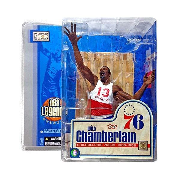 """マクファーレン トイズ NBA バスケットボール アクション フィギュア ダイキャスト McFarlane Toys NBA Sports Picks Legends Series 1 Action Figure Wilt """"The Stilt"""" Chamberlain (Philidelphia 76ers) by Unknown"""