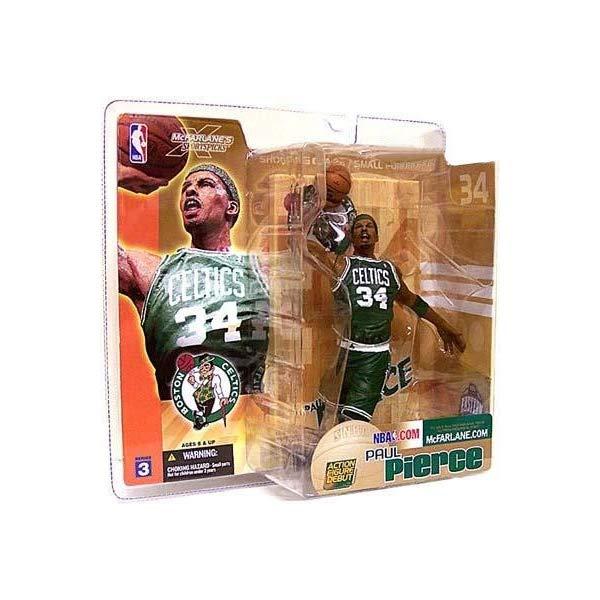 マクファーレン トイズ NBA バスケットボール アクション フィギュア ダイキャスト Paul Pierce #34 McFarlane NBA Series 3 Boston Celtics Green Uniform Action Figure