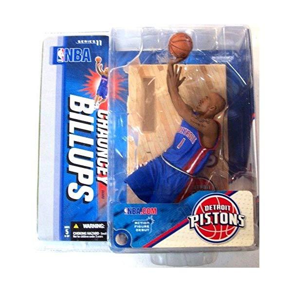 """マクファーレン トイズ NBA バスケットボール アクション フィギュア ダイキャスト McFarlane Toys 6"""" NBA Series 11 - Chauncey Billups Blue Jersey"""