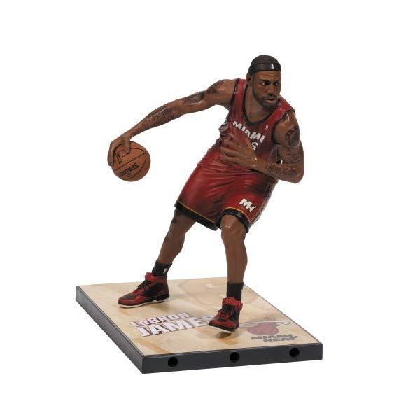 マクファーレン トイズ NBA バスケットボール アクション フィギュア ダイキャスト McFarlane Toys NBA Series 24 LeBron James Action Figure