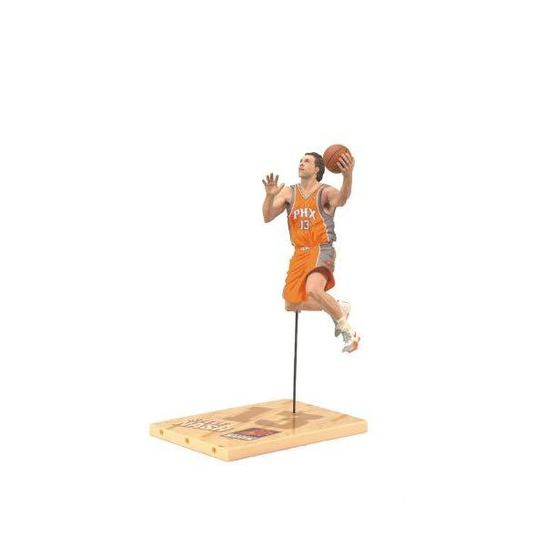マクファーレン トイズ NBA バスケットボール アクション フィギュア ダイキャスト McFarlane Toys NBA Series 19 Steve Nash 3 Action Figure