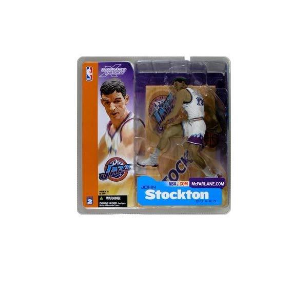 マクファーレン トイズ NBA バスケットボール アクション フィギュア ダイキャスト McFarlane Sportspicks: NBA Series 2 John Stockton Action Figure