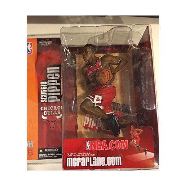 マクファーレン トイズ NBA バスケットボール アクション フィギュア ダイキャスト McFarlane Sportspicks NBA Series 6 Scottie Pippen Action Figure