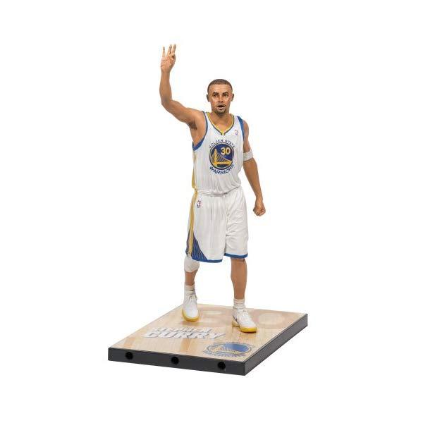 マクファーレン トイズ NBA バスケットボール アクション フィギュア ダイキャスト McFarlane Toys NBA Series 24 Stephen Curry Action Figure
