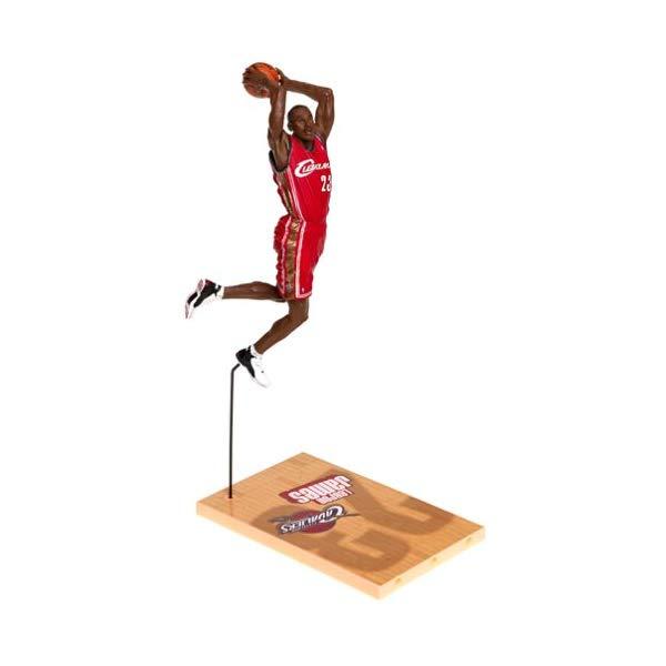 マクファーレン トイズ NBA バスケットボール アクション フィギュア ダイキャスト McFarlane Toys NBA Sports Picks Series 5 Action Figure LeBron James Red Jersey Variant