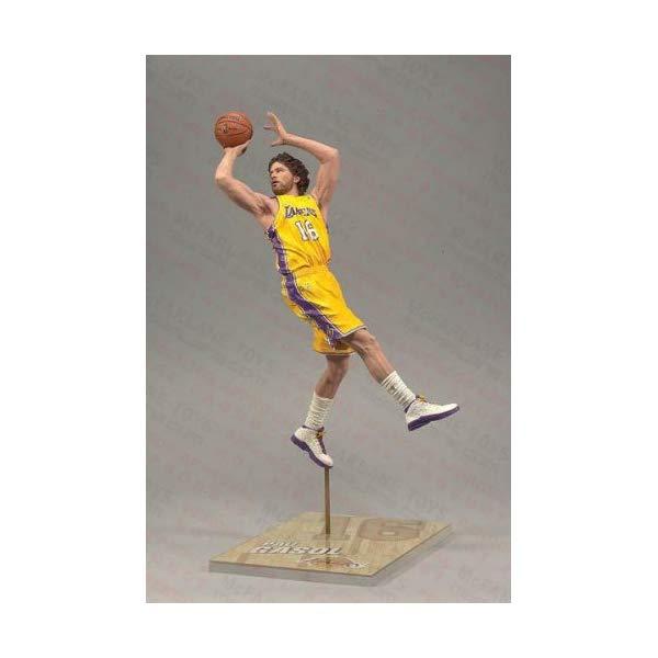 マクファーレン トイズ NBA バスケットボール アクション フィギュア ダイキャスト McFarlane Toys NBA Sports Picks Series 17 Pau Gasol