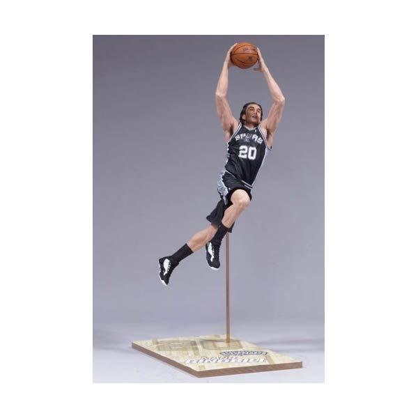 マクファーレン トイズ NBA バスケットボール アクション フィギュア ダイキャスト McFarlane Toys 6 NBA Series 10 - Manu Ginobili by Unknown