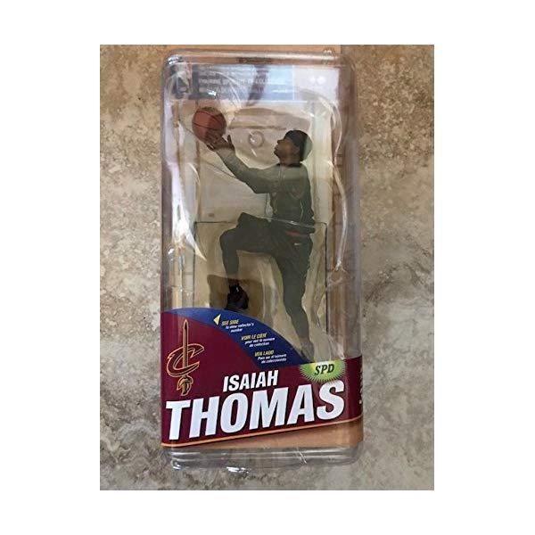 マクファーレン トイズ NBA バスケットボール アクション フィギュア ダイキャスト McFarlane Toys Nba Series 32 Isaiah Thomas Cleveland Cavaliers Variant Action Figure/750