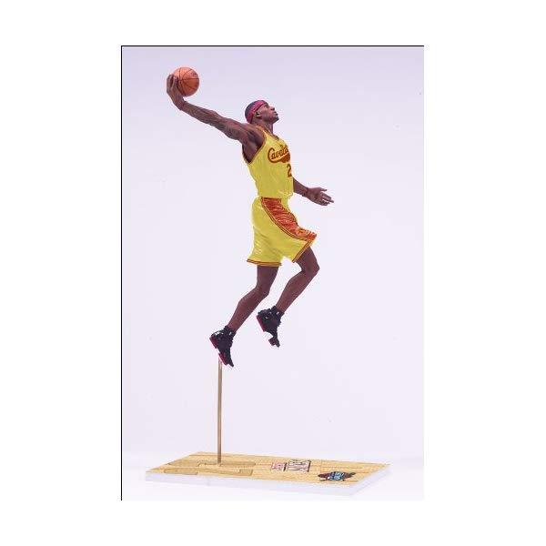 マクファーレン トイズ NBA バスケットボール アクション フィギュア ダイキャスト McFarlane Toys NBA Sports Picks Series 17 Lebron James