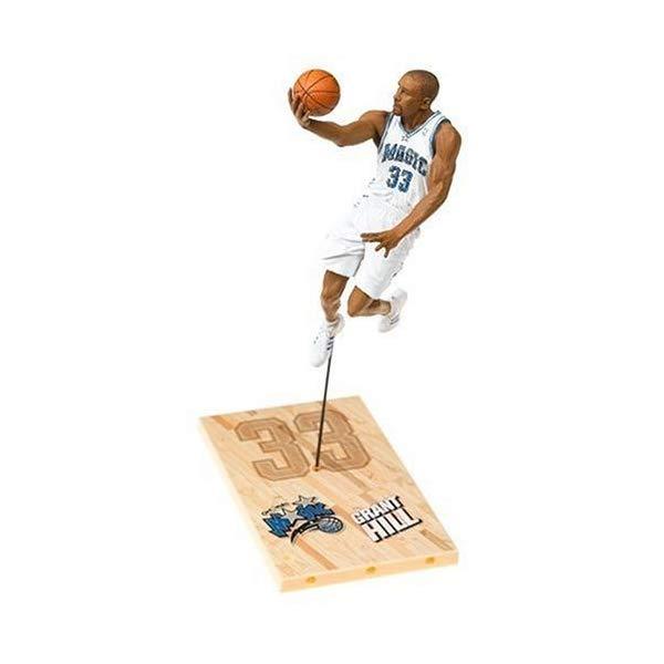 マクファーレン トイズ NBA バスケットボール アクション フィギュア ダイキャスト Grant Hill #33 Orlando Magic White Uniform McFarlane NBA Series 9 Action Figure