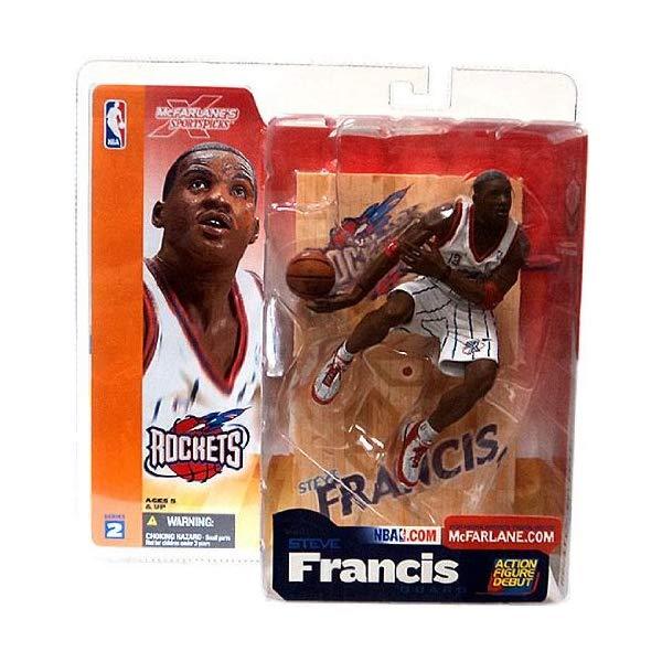 マクファーレン トイズ NBA バスケットボール アクション フィギュア ダイキャスト McFarlane Sportspicks: NBA Series 2 Steve Francis Action Figure