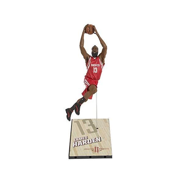 マクファーレン トイズ NBA バスケットボール アクション フィギュア ダイキャスト McFarlane Toys NBA Series 27 James Harden Action Figure