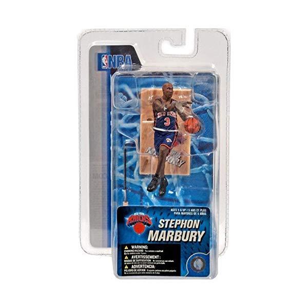 マクファーレン トイズ NBA バスケットボール アクション フィギュア ダイキャスト McFarlane Toys NBA 3 Inch Sports Picks Series 4 Mini Figure Stephon Marbury (New York Knicks) by McFarlane's Sportspicks