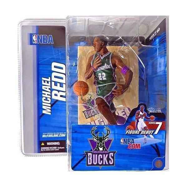 マクファーレン トイズ NBA バスケットボール アクション フィギュア ダイキャスト McFarlane Toys NBA Sports Picks Series 7 Action Figure Michael Redd (Milwaukee Bucks) Green Jersey Variant