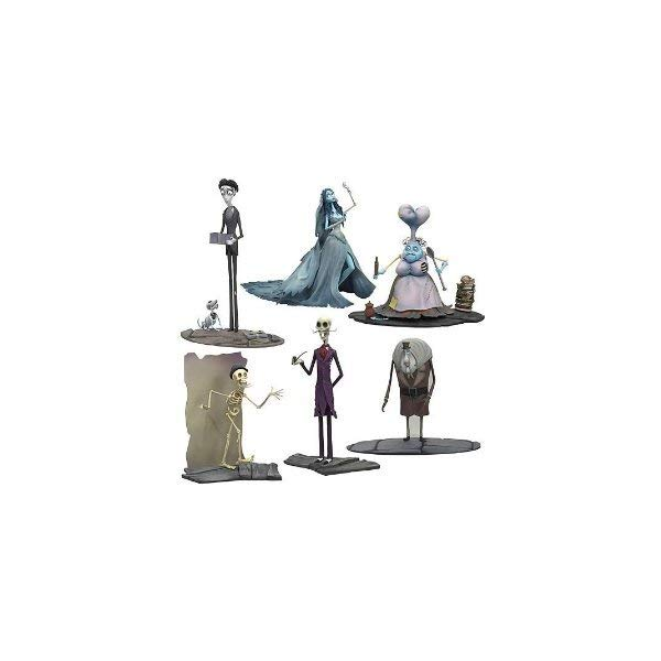 マクファーレン トイズ ティム・バートンのコープスブライド アクション フィギュア Corpse Bride Action Figure Series 2 Set