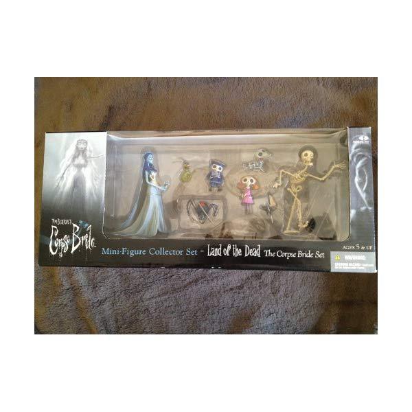 マクファーレン トイズ ティム・バートンのコープスブライド アクション フィギュア Tim Burton's Corpse Bride Mini-figure Collector Set: The Corpse Bride Set