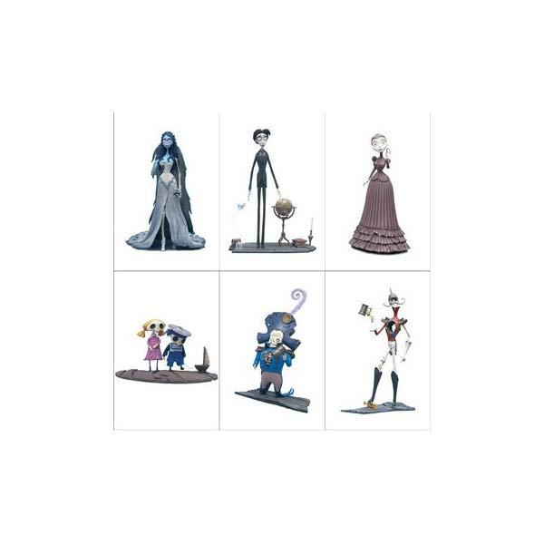 マクファーレン トイズ ティム・バートンのコープスブライド アクション フィギュア Corpse Bride Series 1 Action Figure Set of 6