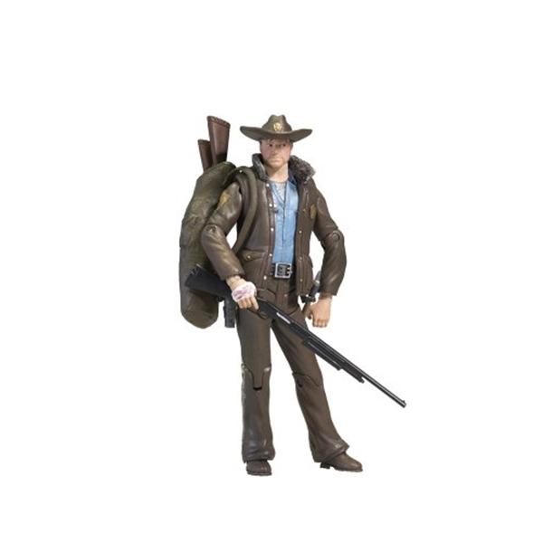 マクファーレン トイズ ウォーキングデッド アクションフィギュア ダイキャスト McFarlane Toys The Walking Dead Comic Series 1 - Officer Rick Grimes