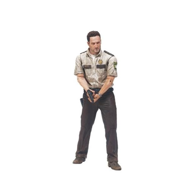 マクファーレン トイズ ウォーキングデッド アクションフィギュア ダイキャスト McFarlane Toys The Walking Dead TV Series 1 - Deputy Rick Grimes Action Figure