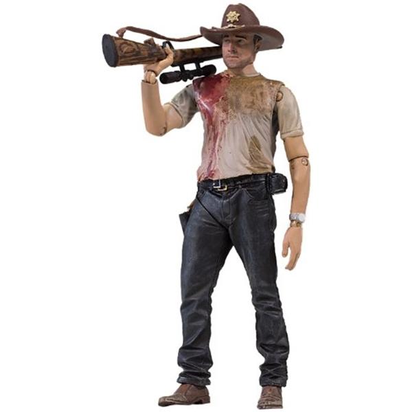 マクファーレン トイズ ウォーキングデッド アクションフィギュア ダイキャスト McFarlane Toys The Walking Dead TV Series 2 - Rick Grimes 2 Action Figure