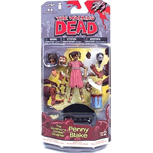 マクファーレン トイズ ウォーキングデッド アクションフィギュア ダイキャスト McFarlane Toys The Walking Dead Comic Series 2 Penny The Governors Daughter Action Figure