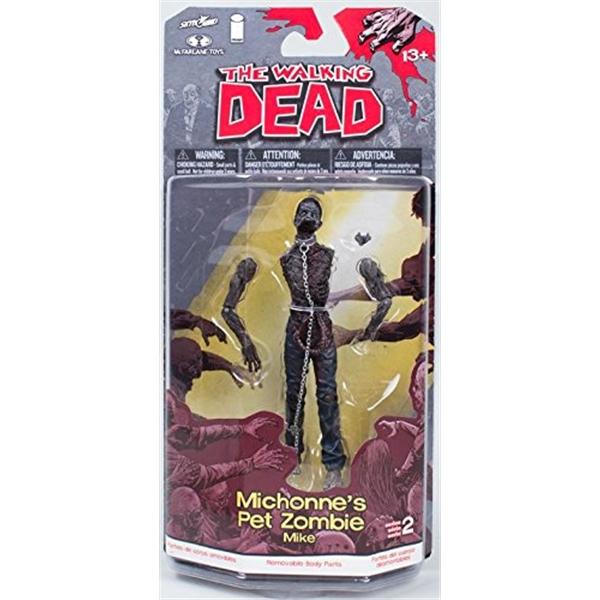 マクファーレン トイズ ウォーキングデッド アクションフィギュア ダイキャスト McFarlane Toys The Walking Dead Comic Series 2 Michonne's Pet Zombie Action Figure