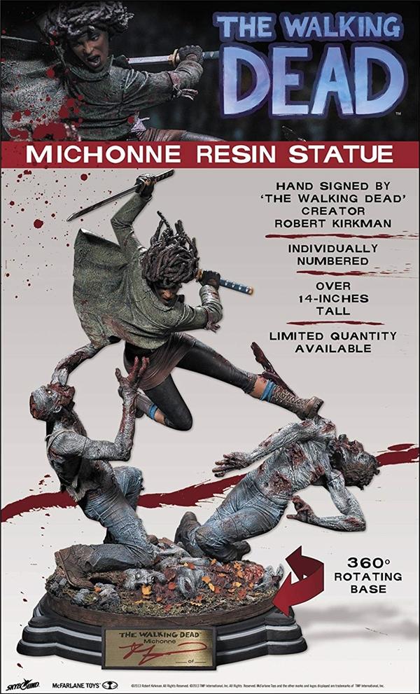 マクファーレン トイズ ウォーキングデッド アクションフィギュア ダイキャスト McFarlane Toys The Walking Dead Michonne Statue (Limited Edition)