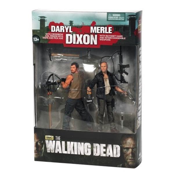 マクファーレン トイズ ウォーキングデッド アクションフィギュア ダイキャスト McFarlane Toys The Walking Dead TV Series 4, Merle & Daryl Dixon Brothers, 2-Figure Pack