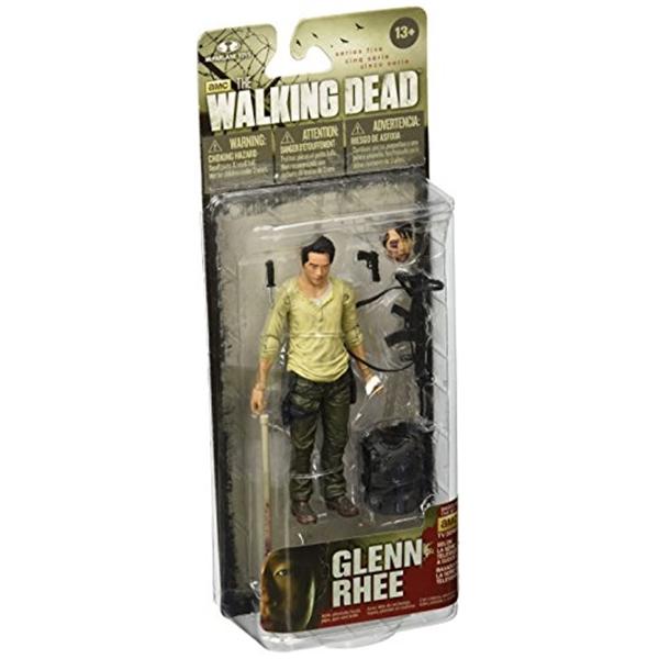 マクファーレン トイズ ウォーキングデッド アクションフィギュア ダイキャスト McFarlane Toys The Walking Dead TV Series 5 Glenn Action Figure