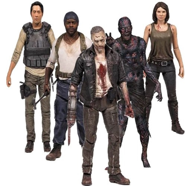 マクファーレン トイズ ウォーキングデッド アクションフィギュア ダイキャスト MCFARLANE The Walking Dead TV Series 5 Set of 5 Action Figures