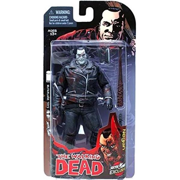 マクファーレン トイズ ウォーキングデッド アクションフィギュア ダイキャスト McFarlane Toys Exclusive Walking Dead COMIC Action Figure Negan [BLACK & WHITE]