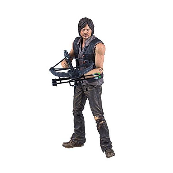 マクファーレン トイズ ウォーキングデッド アクションフィギュア ダイキャスト McFarlane Toys The Walking Dead TV Series 6 Daryl Dixon Action Figure